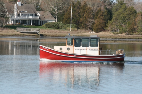 Lobster Boat Photo Copyright by J. Scully